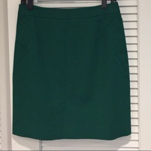 Kate spade green skirt size 6 new without tags